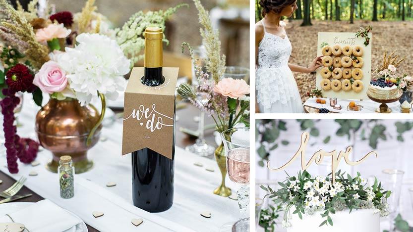 Forest wedding, rustiikkinen hääteema