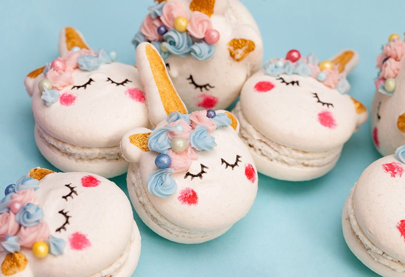 Unicorn Face macaronit