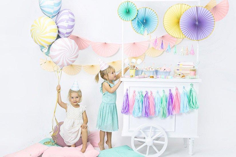 Candy Pastel - Näyttävä synttäriteema lapselle