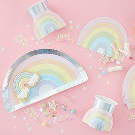 Pastel Rainbow Party