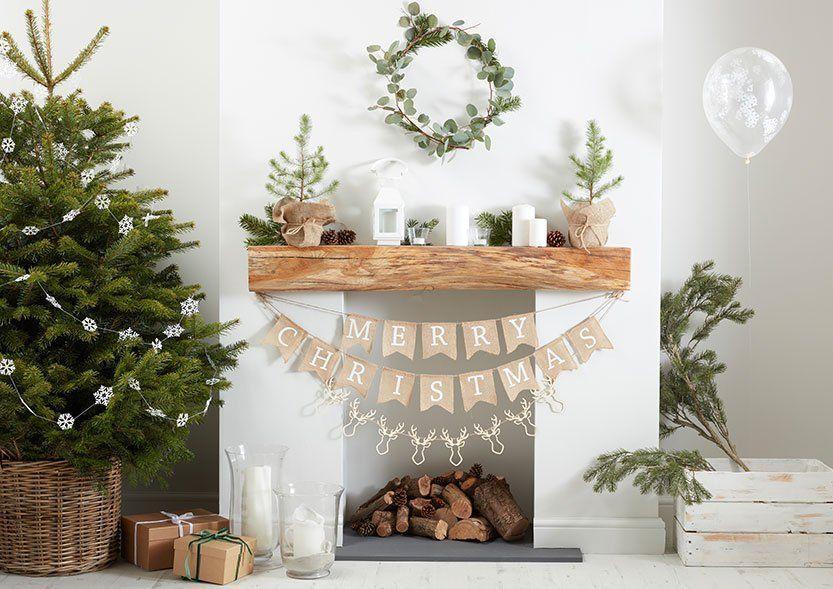 Rustic Christmas -teema