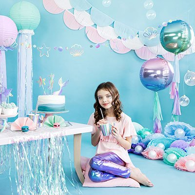 Mermaid Party -teema