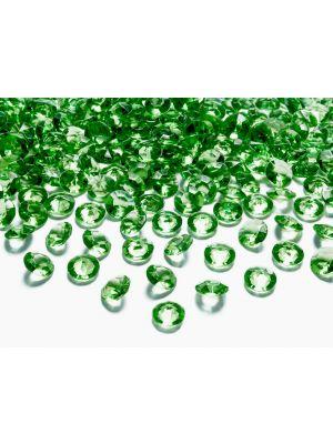 Tummanvihreät timanttikonfetit