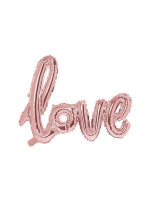 Foliopallo - Love - Ruusukulta