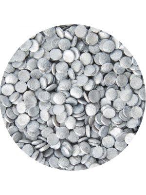 Wilton Silver Mini-confetti - Hopeinen konfetti-strösseli.