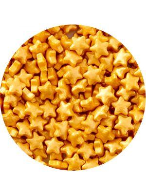 Wilton Sprinkles Gold Stars - Kultainen tähti-strösseli.