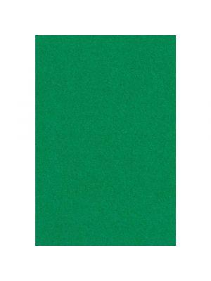 Vihreä muovinen kertakäyttöpöytäliina, 137 x 274 cm.