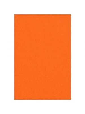 Paperinen oranssi pöytäliina, 137 x 274 cm.