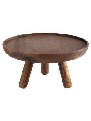 Öljykäsitelty akasiapuinen kakkuvati, 30,5 x 15 cm.