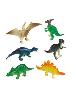 Pienet lelu dinosaurukset, 8 kpl.