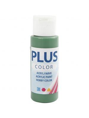 Plus Color Askartelumaali, Akryylimaali, Forrest Green, Metsänvihreä