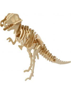 Koottava Dinosaurus T-Rex, 3D-palapeli