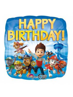 Foliopallo Happy Birthday, Ryhmä Hau, 43cm
