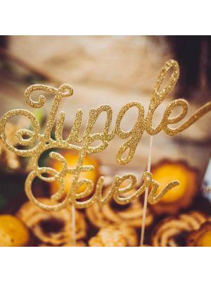"""Kakkukoriste """"Jungle Fever"""", kultaglitter."""