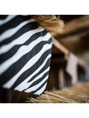Seeprakuviollinen kaitaliina Jungle Safari juhlateemasta
