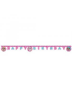 LOL Surprise Banneri - Happy Birthday, 2M