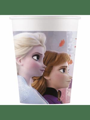 Frozen 2 pahvimukit, 8 kpl.