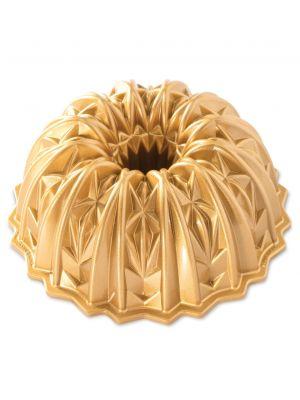 Nordic Ware Kahvikakkuvuoka Cut Crystal Bundt Pan, Kulta, 2,4 Litraa