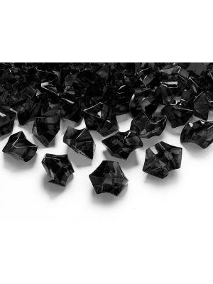 Mustat jääkristallit, 50 kpl.