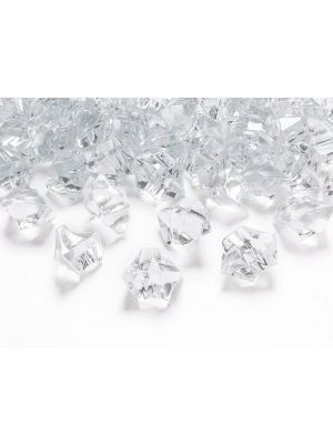 Kristallit Pöytäkoriste Kirkas 50 kpl