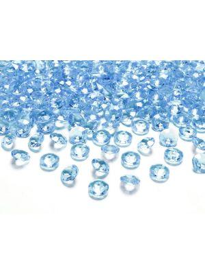 Vaaleansiniset timanttikonfetit