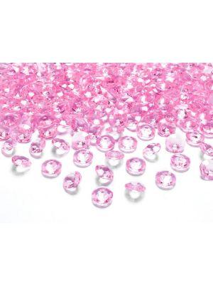 Hennon vaaleanpunaiset timanttikonfetit
