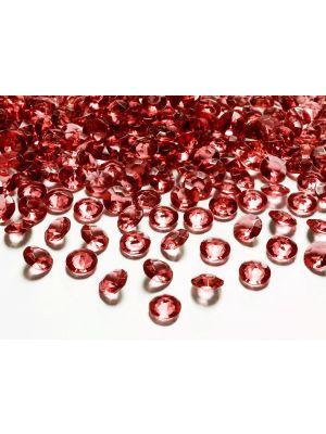 Punaiset timanttikonfetit