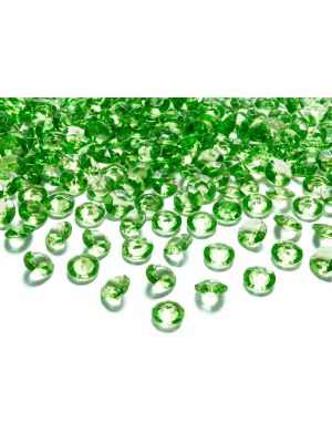 Vihreät timanttikonfetit