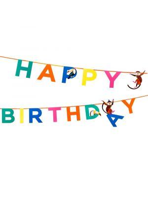 Banneri, Happy Birthday, Viidakon eläimet