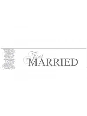 Hääautokyltti - Just Married