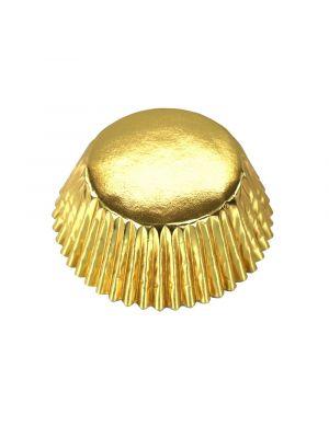 Kultaiset folioidut PME:n muffinssivuoat, 30 kpl.