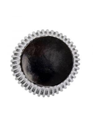 Mustat folioidut PME:n muffinssivuoat, 30 kpl.