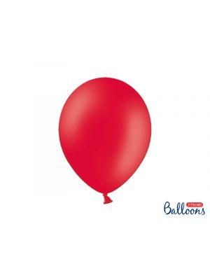 Punaiset ilmapallot, 30 cm, 10 kpl.