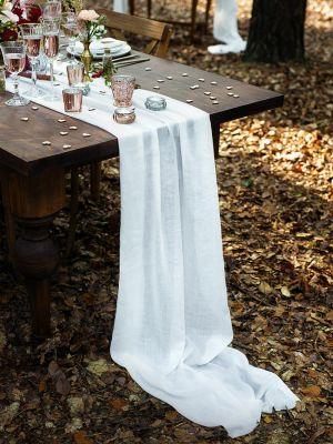 Kaitaliina, Valkoinen musliinikangas 70x500cm