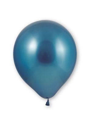 Siniset kromi-ilmapallot, 10 kpl.