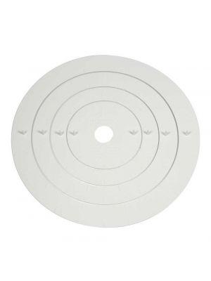 PME:n kakun koristelutyökalu / mittaustyökalu, pyöreät levyt.