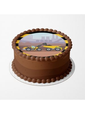 Kakkukuva - Työkoneet työmaa