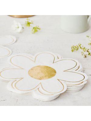 Lautasliinat, Valkoiset kukat, 16kpl