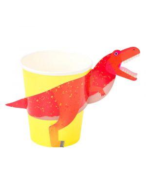 Pahvimukit, Dinosaurus T-rex, 8kpl