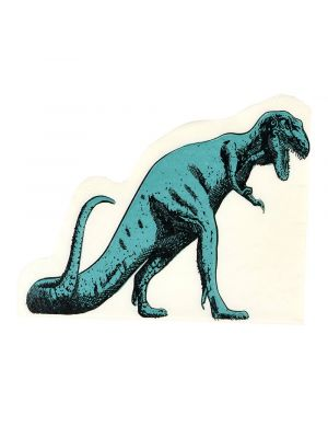T-rex -muotoiset servetit, 16 kpl.