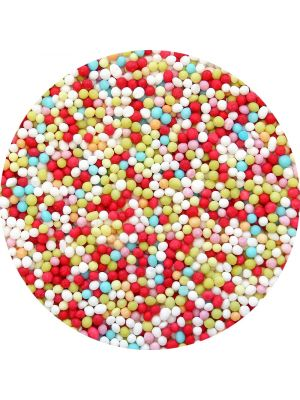 PME Multi-coloured Nonpareils - Hopeiset nonparellit.
