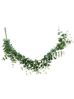 Keinotekoinen Eukalyptus köynnös glitterillä 1,4m.