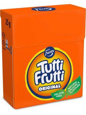 Fazer Tutti Frutti Original karkkirasia, 25g.