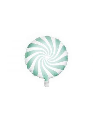 Foliopallo Mintunvärinen - Candy Pastel