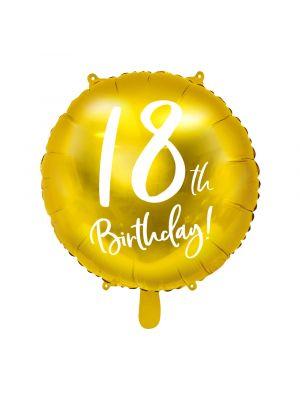 Folipallo, 18th Birthday!, Kulta, 45cm