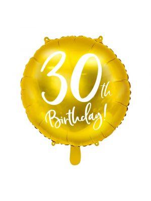 Folipallo, 30th Birthday!, Kulta, 45cm