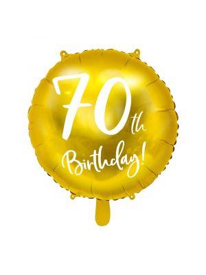Folipallo, 60th Birthday!, Kulta, 45cm, 60-v juhlat