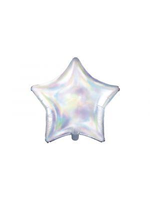 Hohtava iridescent tähti foliopallo