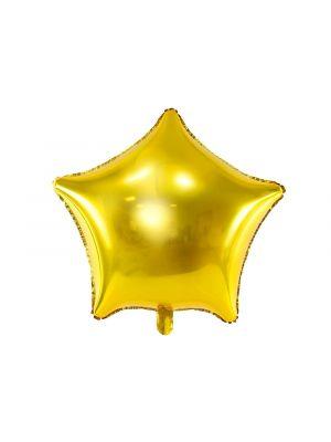 Kultainen tähti foliopallo