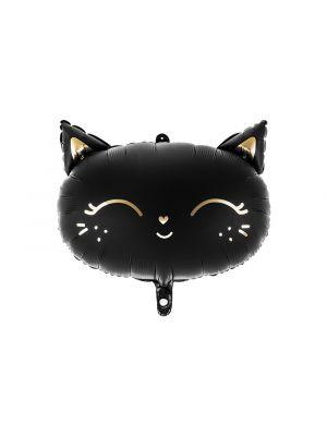 Musta kissa-foliopallo.
